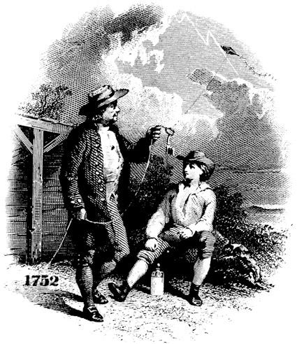 Benjamin Franklin và thí nghiệm cái diều huyền thoại